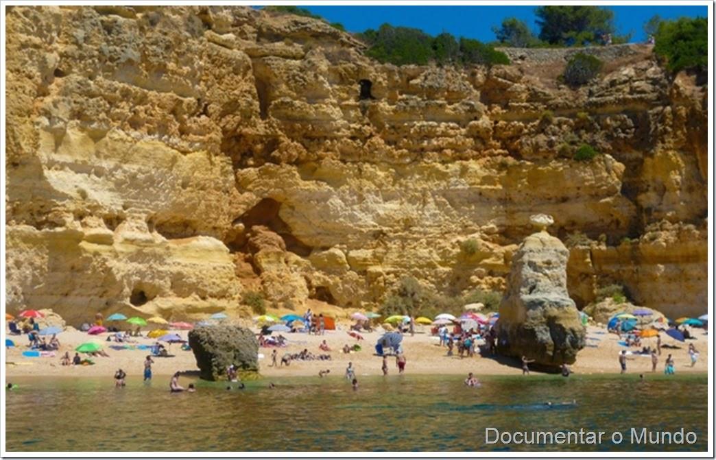 Praia da Marinha; Praias Algarve; Férias Algarve; Grutas Marinhas; Sea Caves; Grotten Fahrt