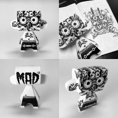 """Skull Pop"" Custom 5"" MAD*L by MAD"