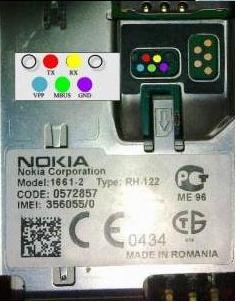 Nokia 1202 + 1203 Pinout