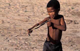Kalahari Bushman Child