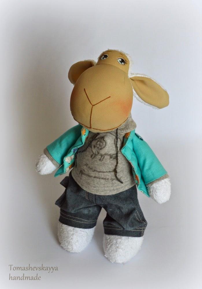 Картинка овечка игрушка