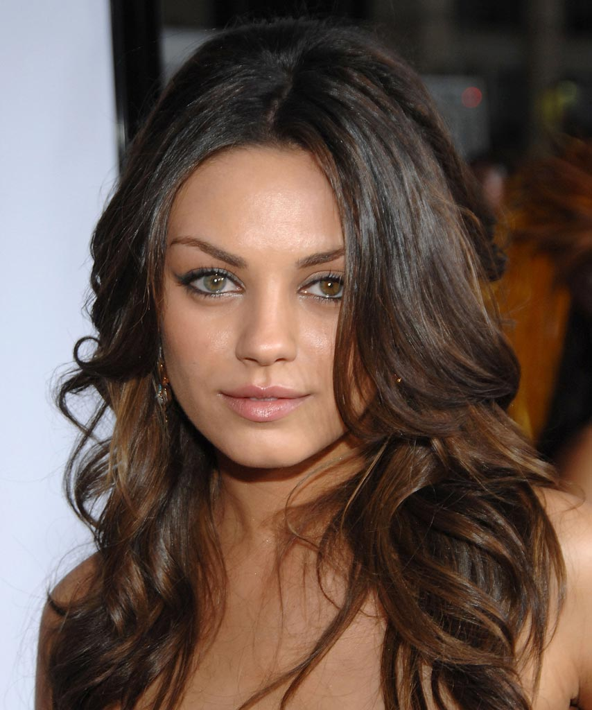 Mila Kunis Two Different Colored Eyes