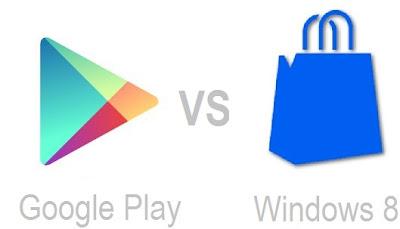 Windows 8 Mağaza ve Android Market Arasındaki 10 Fark