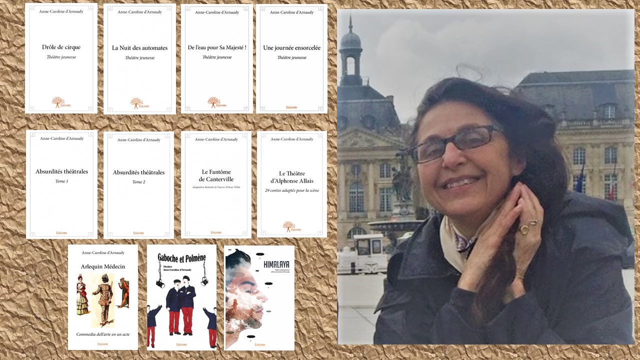 Anne-Caroline d'Arnaudy : auteur