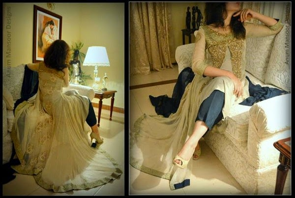 Anum Mansoor Elegant Hits Formal and Casual Dresses For Eid 2014