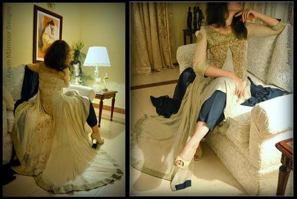 Anum Mansoor Elegant Hits Formal and Casual Dresses For Eid 2014