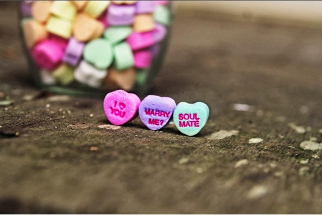 Бонбонки във формата на сърце