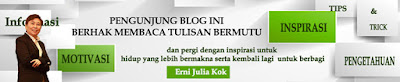 Erni Julia Kok Personal Blogs