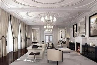 Gambar Desain Ruang Tamu Modern dan Mewah