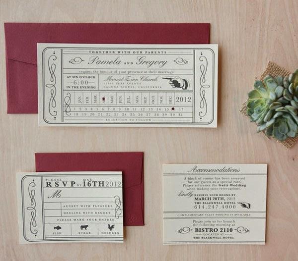 Sample Wedding Invitation 33 Marvelous wedding invitation samples