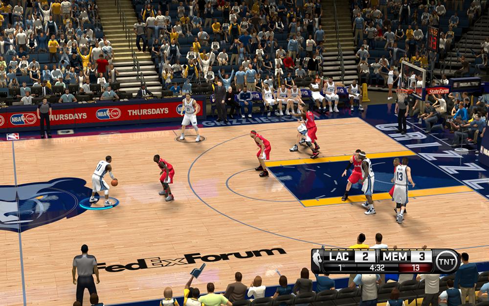 NBA 2K14 Memphis Grizzlies HD Court Mod [NBA on TNT] - NBA2K.ORG