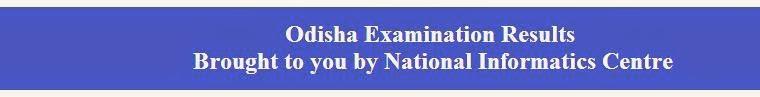 CHSE Orissa HSC Result 2014