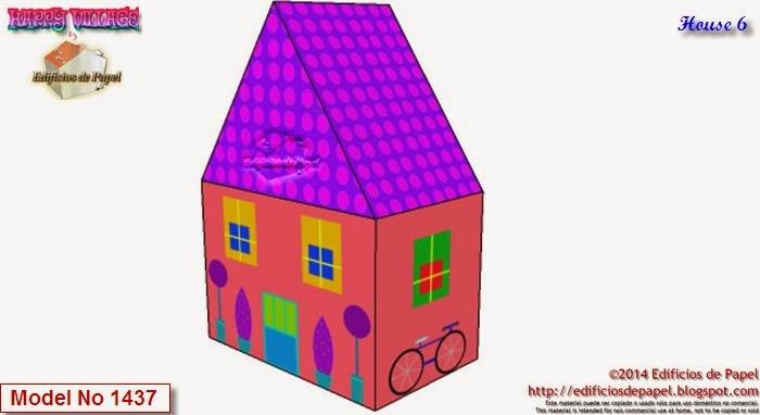 Tienes 10 casitas de papel en un solo fichero en http://edificiosdepapel.blogspot.com