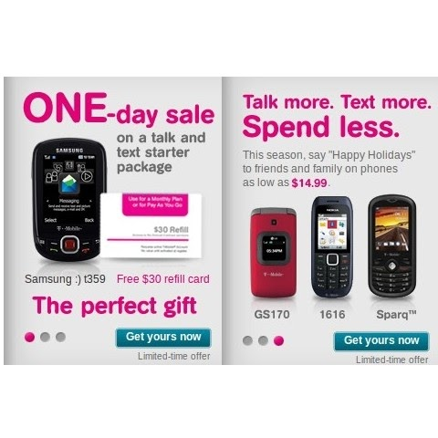 T-Mobile Puts Prepaid Phones on Sale - Up to 50% Off  Prepaid Phone News