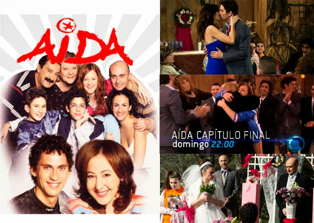 Final de la serie 'Aída', de Telecinco