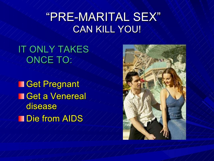 Pros and cons of premarital sex