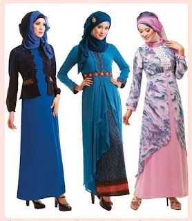 Contoh Pilihan Baju Muslim Kebaya Terpopuler
