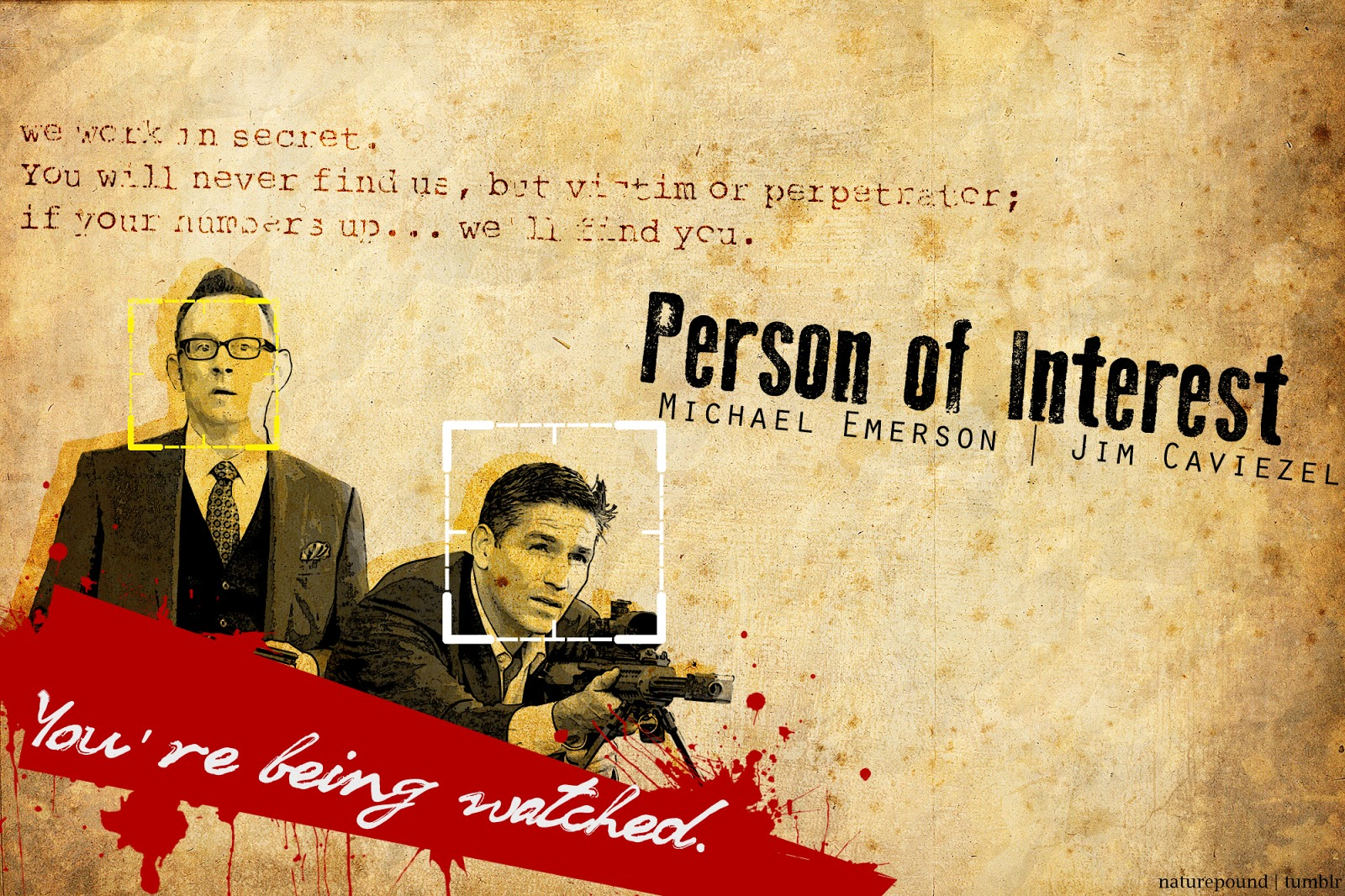 Person of interest poster gallery tv series posters and cast