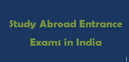 Study Abroad Exams 2014