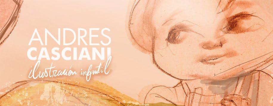 Andrés Casciani | Ilustración infantil