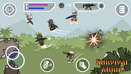 download Doodle Army 2 Mini Militia