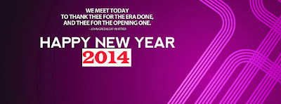 Facebook Timeline Covers of Happy New Year 2014