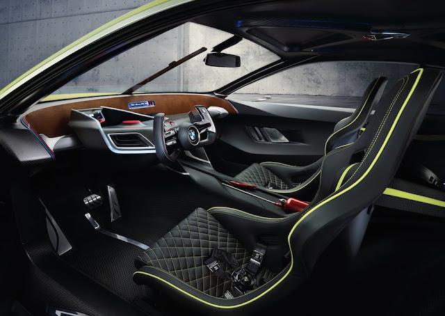 BMW 3.0CSLオマージュ インテリア