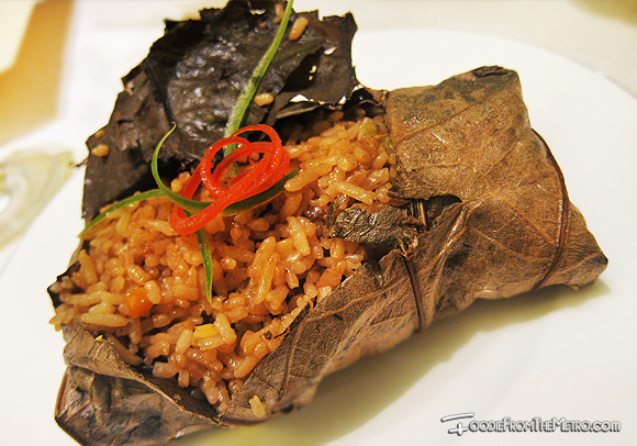 Foodie from the Metro - Mabuhay Palace Vegetarian Menu Lotus Fried Rice