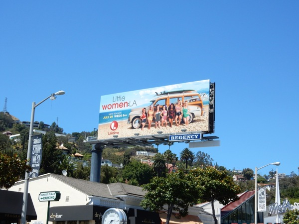 Little Women LA season 3 billboard