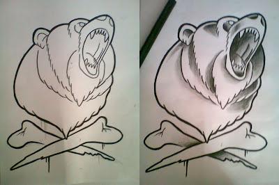 Tatuagem de Urso - Bear Tattoo