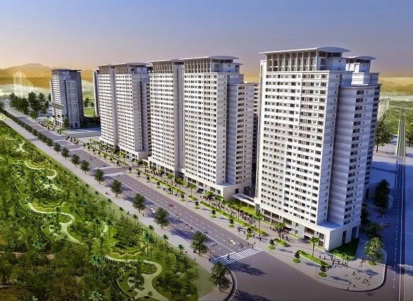 Phối cảnh Park View Residence trong tổ hợp căn hộ CT7 - ĐTM Dương Nội