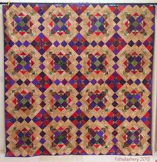 Easy Street Quilt Fabadashery Bonnie Hunter Mystery