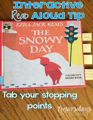 Activities for Interactive Read Alouds