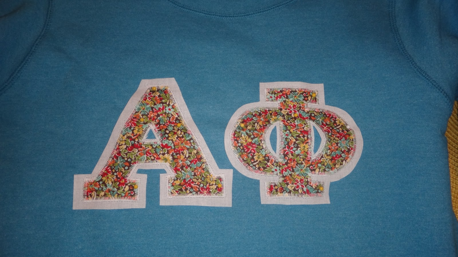 LC Design: Personalized Sew-On Letters!