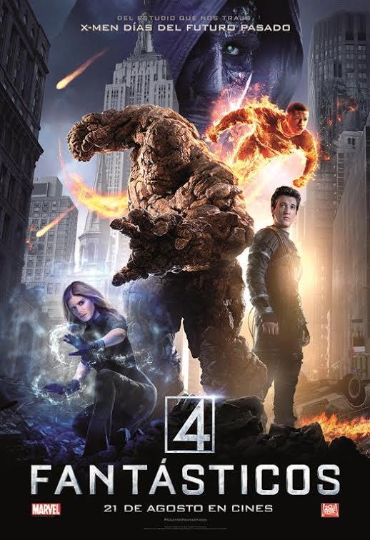 Poster Cuatro Fantásticos