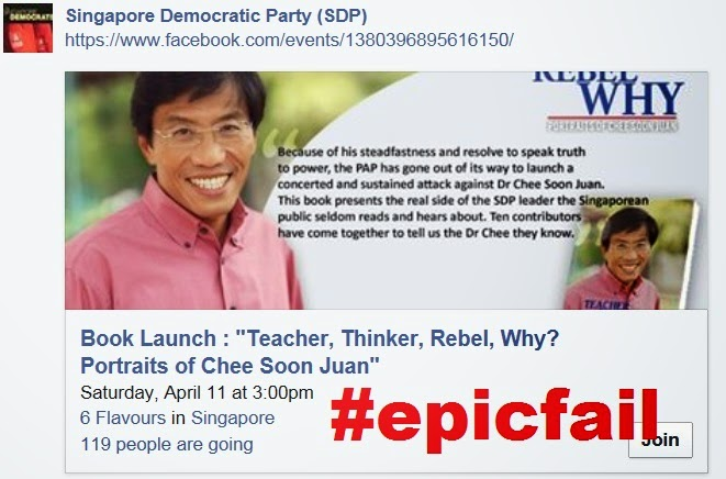 SDP book portrait of Chee Soon Juan