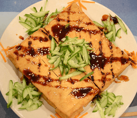 Grilled Tofu with Hoisin Sauce