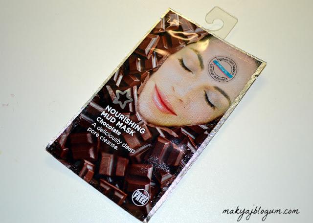 """""""çikolatalı kil maskesi"""""""