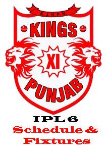 Kings-XI-Punjab-IPL-6-2013-Schedule-and-Fixtures