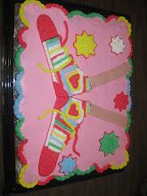 Pastel de Cupcakes con Tenis