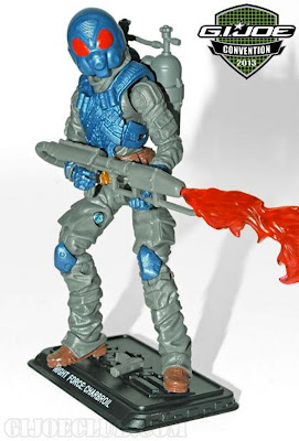 GI Joe 2013 Convention Exclusive Night Force Boxed Set - Charbroil figure