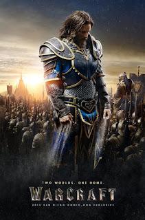 "Cine: dos pósters para ""Warcraft""."