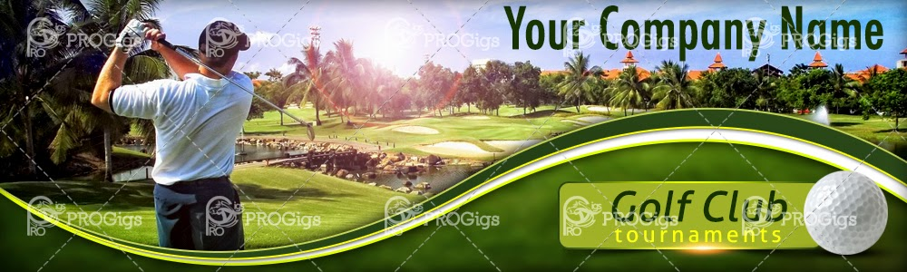 Golf Website Header
