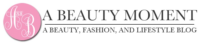 A beauty moment banner
