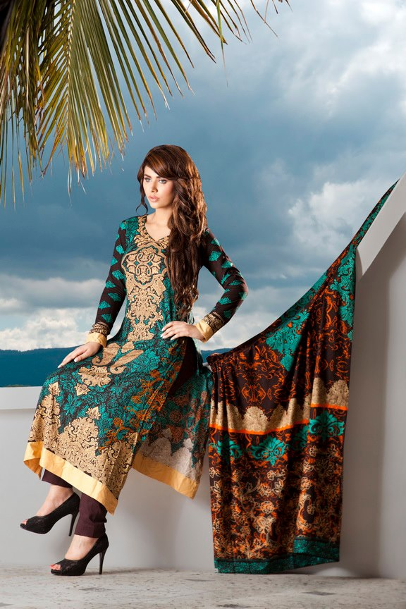 FirdousWinterColectioninEmbroudered252812529 - Firdous Embroidered Range for Winter 2012