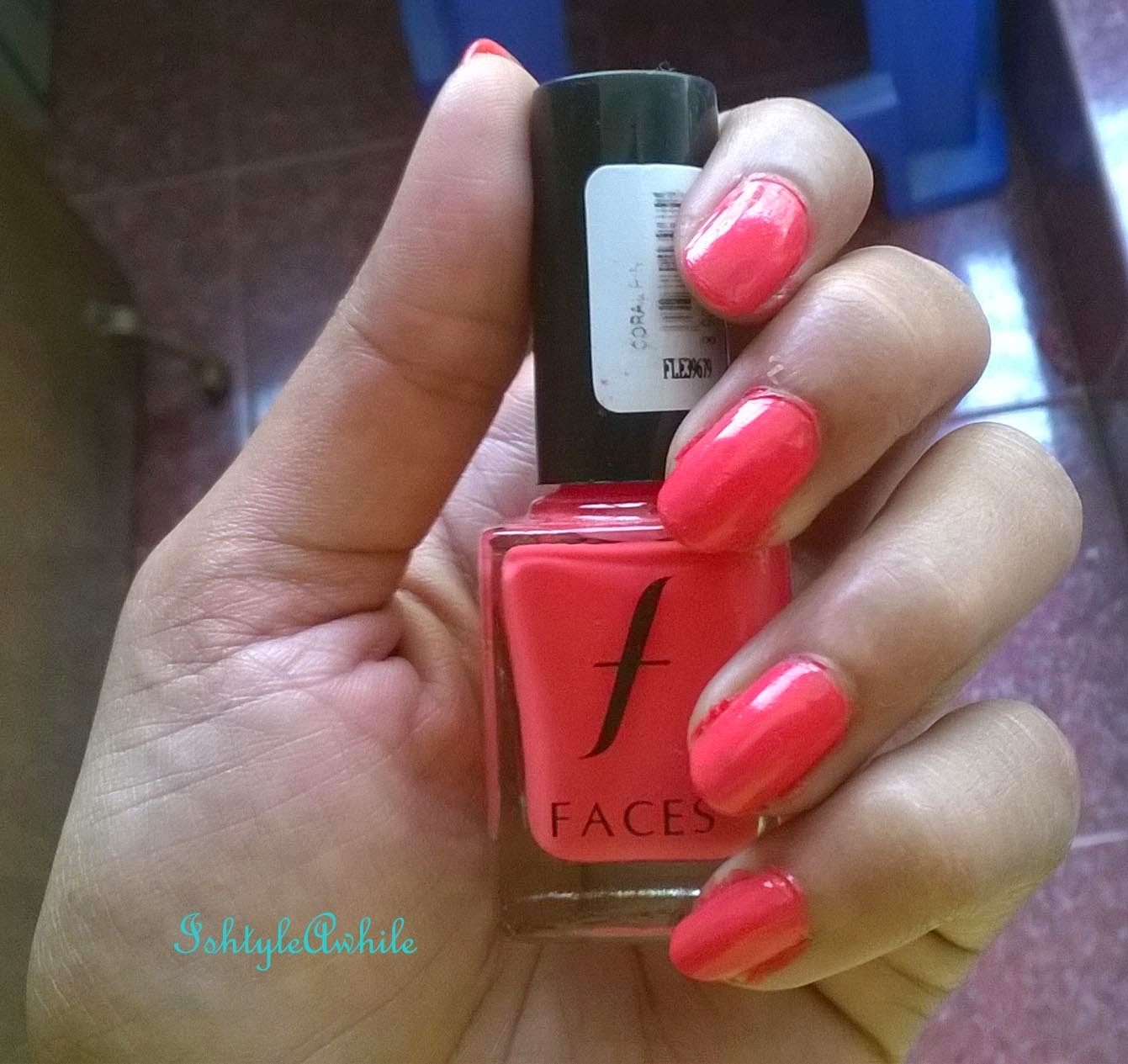 Summer Ma(Y)gic #8: REVIEW: Faces nail colour in Coral Pink image