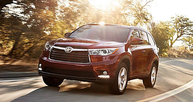 2016 Toyota Highlander Models and Price