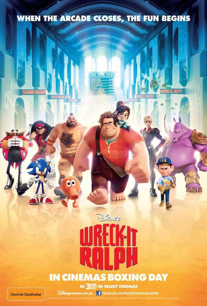 Animation wreck it ralph