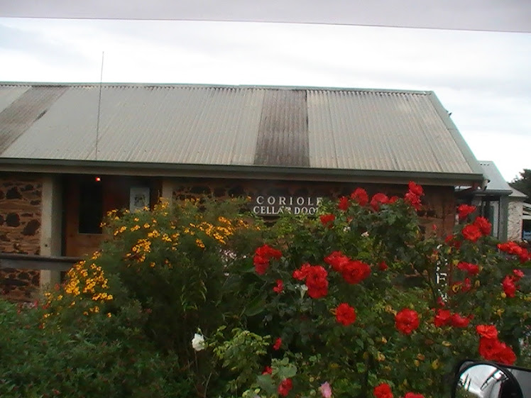 A PRETTY CELLAR DOOR..... MCLAREN VALE WINERY ADELAIDE