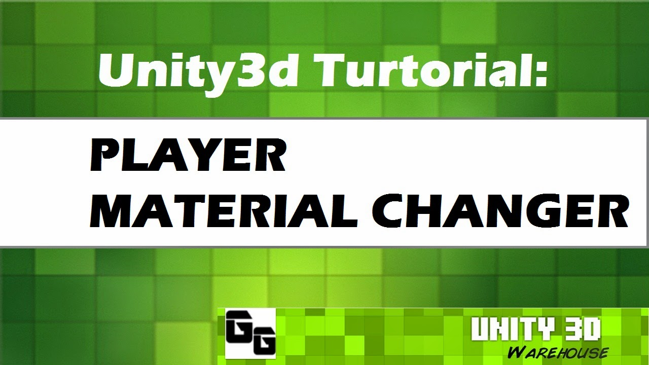 unity how to create material